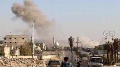 """صورة إصابات بين المدنيين بقذائف """"التركي"""" شمالي حلب"""