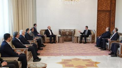 صورة الرئيس الأسد لـ قاليباف: التنسيق القائم مع إيران سيستمر حتى تحرير كامل الأراضي ودحر الإرهاب