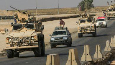 صورة الأمريكي يحرك 48 آلية محملة بأسلحة وذخائر من العراق لقواعده بالحسكة