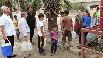 صورة رئيس مجلس الشعب يوجه عشرات الرسائل لإدانة جريمة الاحتلال بقطع المياه عن الحسكة