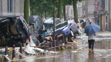 صورة ارتفاع حصيلة قتلى الفيضانات المدمرة في بلجيكا