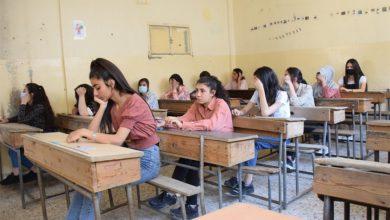 صورة ٥٠.٦٣ نسبة نجاح الثانوي العلمي و٤٩.٢ نسبة نجاح الثانوي الأدبي بالحسكة