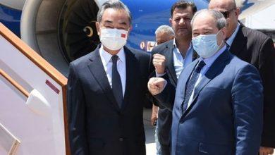 صورة المقداد يتلقى رسالة من نظيره الصيني بمناسبة الذكرى 65 لإقامة العلاقات بين سورية والصين