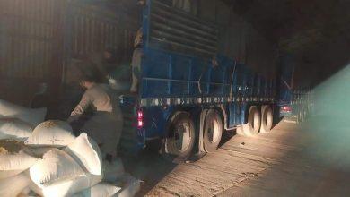 صورة ضبط عشرات الأطنان من القمح في حماة