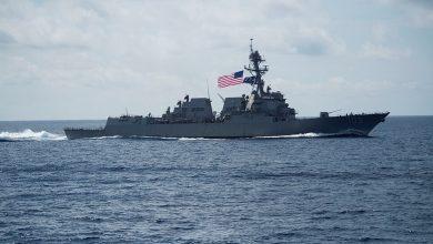 صورة الصين تُبعد سفينة حربية أميركية
