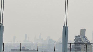 صورة هواء نيويورك من بين الأسوأ في العالم بسبب الحرائق
