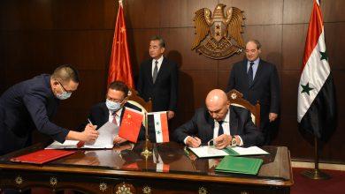 صورة جلسة مباحثات سورية صينية.. وتوقيع على اتفاقية اقتصادية ووثيقة تسليم مساعدات