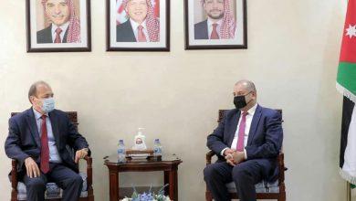 صورة رئيس مجلس النواب الأردني للقائم بأعمال السفارة السورية في عمان: موقفنا واضح ومتقدم وحريصون على تطوير علاقاتنا