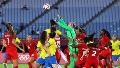 صورة البرازيل واليابان خارج كرة القدم النسائية