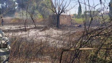"""صورة قائد فوج إطفاء اللاذقية لـ""""الوطن"""": إخماد 6 حرائق والسيطرة على حريق ضخم خلف محطة وقود"""