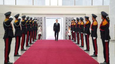صورة الرئيس بشار الأسد يؤدي القسم الدستوري رئيساً للجمهورية العربية السورية