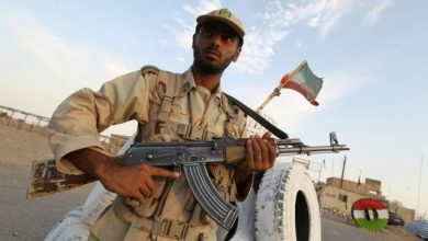 صورة القبض على جماعة مسلحة في إيران والكشف عن أهدافها