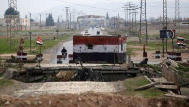 صورة شهداء عسكريون باعتداءات إرهابية على حواجز للجيش في درعا