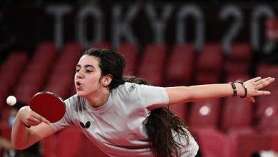 """صورة دعوة خاصة لـ """"ظاظا"""" من الصين للتدريب مع أسياد كرة الطاولة"""