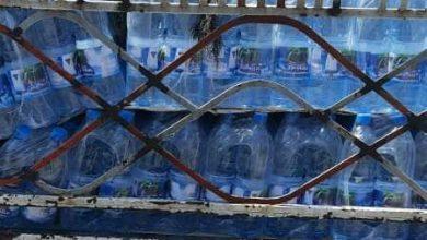 صورة مخالفة باصات تتقاضى أجرا زائدا وسيارة ومحال توزع وتبيع مياه معدنية دون فواتير شراء بحلب