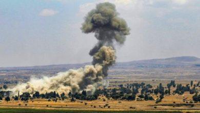 صورة مدفعية الاحتلال تقصف بلدات في جنوب لبنان