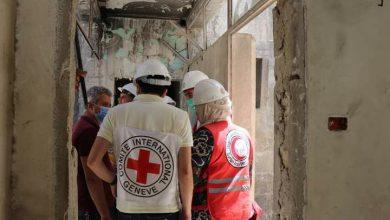 صورة اللجنة الدولية للصليب الأحمر: ٦ أشهر لتأهيل مبنى الطبابة الشرعية بحلب