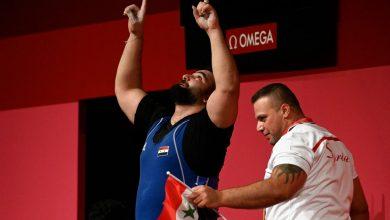 صورة رابع ميدالية أولمبية لسورية عبر الرباع معن أسعد
