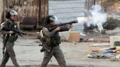 صورة استشهاد 5 فلسطينيين نيران الاحتلال الإسرائيلي في الضفة الغربية