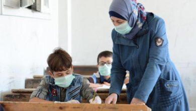 صورة 18 إصابة كورونا بمدارس في حماة و36 مشتبهة بثانوية حلفايا