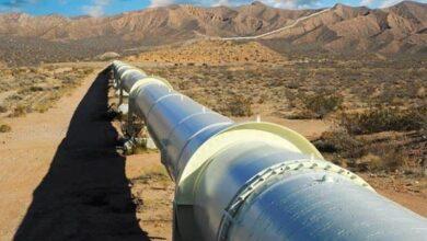 صورة توقف خط الغاز العربي.. والورشات الفنية تباشر بالإصلاح