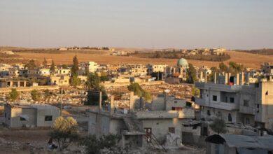 صورة استئناف عمليات التسوية وتسليم السلاح في درعا البلد