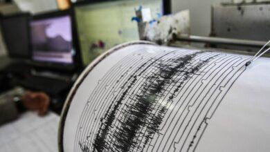 صورة زلزال قوي يضرب جزيرة يونانية
