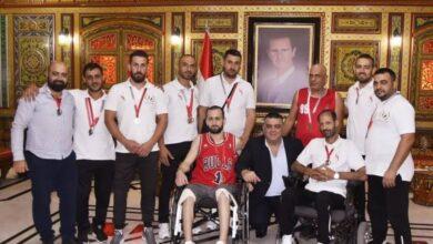 صورة أبو سعدى يكرّم الجرحى الفائزين في منافسات بطولة جريح الوطن الأولى