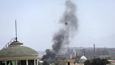 """صورة قتلى وجرحى جراء انفجارين في """"كابل"""" الأفغانية"""