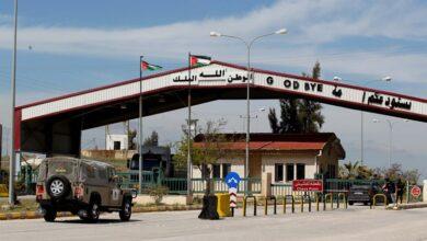صورة عودة الحركة لمعبر جابر الحدودي بين سورية والأردن الأربعاء المقبل