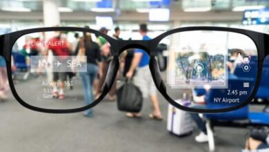 """صورة نظارة ذكية لـ """"فيسبوك"""" تصور كل ما تراه"""