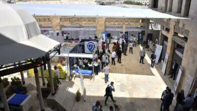 """صورة مئات فرص العمل بمعرض التوظيف في """"صناعة حلب"""""""