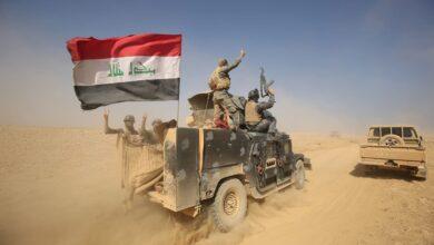 """صورة """"نزوح إرهابي"""" من العراق إلى سورية.. والقوات العراقية تتدخل"""