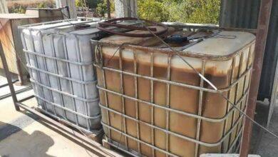 صورة ضبط شركة نقل تتاجر بالمازوت في حمص