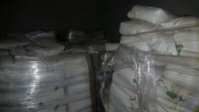 صورة ٩.٥ طن مواد غذائية منتهية الصلاحية لمحسنات البسكويت والخبز في درعا