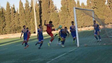 صورة التعادل سيد الموقف في دوري شباب الممتاز لكرة القدم