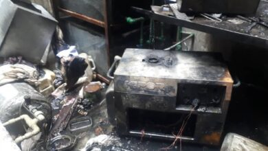 صورة خمسة حرائق حصيلة الثلاثاء في اللاذقية