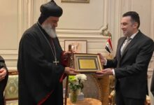 صورة البطريرك مار إغناطيوس أفرام الثاني يزور مقر سفارة الجمهورية العربية السورية في باريس