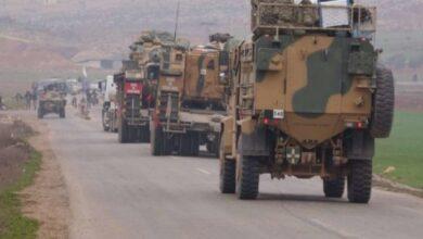 صورة الاحتلال التركي يعزز نقاطه بريف إدلب ويدخل 200 آلية عسكرية