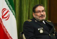 """صورة شمخاني يحذر """"إسرائيل"""" من أي عدوان ضد إيران"""