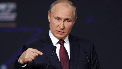 صورة بوتين: الإرهابيون من سورية والعراق يتجمعون في أفغانستان