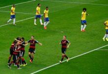 صورة البرازيل والمانيا استثناء بين منتخبات الكون