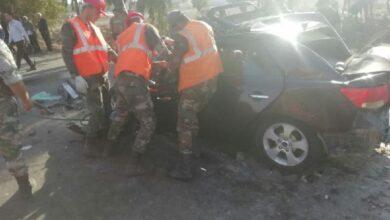 صورة وفاة 3 أشخاص وإصابة طفلة بحادث سير مروع آخر قرب تحويلة حمص – دمشق