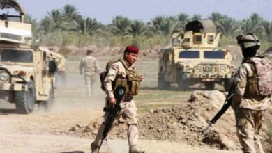 صورة القوات المسلحة العراقية تدمر وكراً إرهابياً في كركوك
