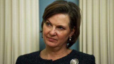 """صورة نائبة وزير الخارجية الأميركي تصف محادثاتها في موسكو بـ""""المثمرة جداً"""""""