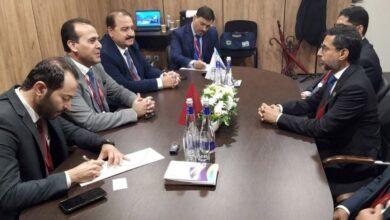 صورة سورية في مباحثات مع الإمارات في مجال النفط والثروة المعدنية
