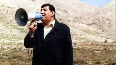 صورة استشهاد الأسير المحرر مدحت الصالح برصاص العدو الإسرائيلي