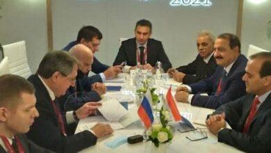 صورة مباحثات سورية روسية حول التعاون في مجال الطاقة