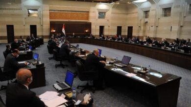 صورة إقرار الاعتمادات الأولية لمشروع الموازنة العامة للدولة للعام 2022