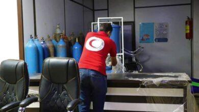 """صورة هلال الحسكة.. ينهي أعمال التأهيل والصيانة في مركز """"اللؤلؤة"""" الطبي المحدث"""